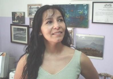 Jennifer Ibarra, veterinaria y titular de la Fundación Cullunche