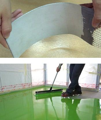 Microcemento alisado un revestimiento de gran practicidad - Como colocar microcemento ...