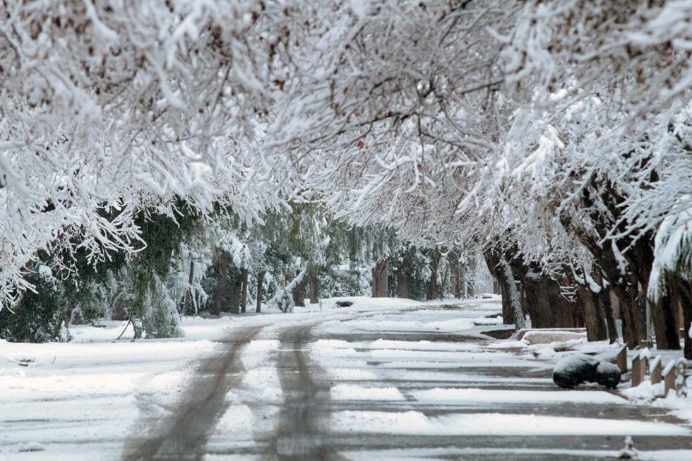 Las primeras fotos gigantes de la nevada en mendoza mdz for Chimentos de hoy en argentina