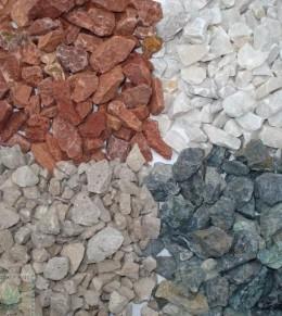 C mo armar un jard n seco mdz online - Piedras de colores para jardin ...