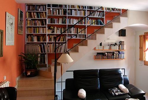 C mo aprovechar el bajo escalera mdz online for Escalera libreria