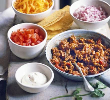 Cocineros mendocinos tacos mexicanos mdz online for Ingredientes para cocinar