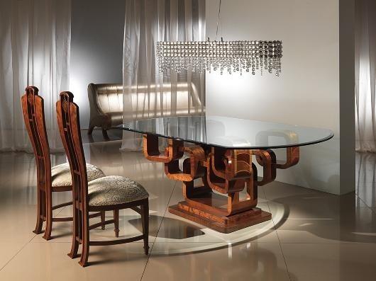Mesas de vidrio con originales bases - MDZ Online