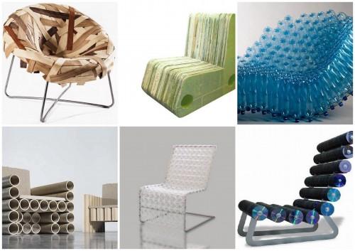Sillones reciclados arte y sustentabilidad mdz online for Reciclado de sillones