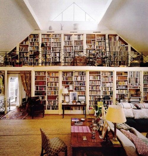 ideas para disear bibliotecas en casa mdz