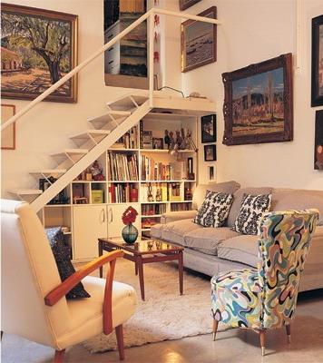 C mo aprovechar el espacio en el bajo escalera mdz online - Escalera de biblioteca ...