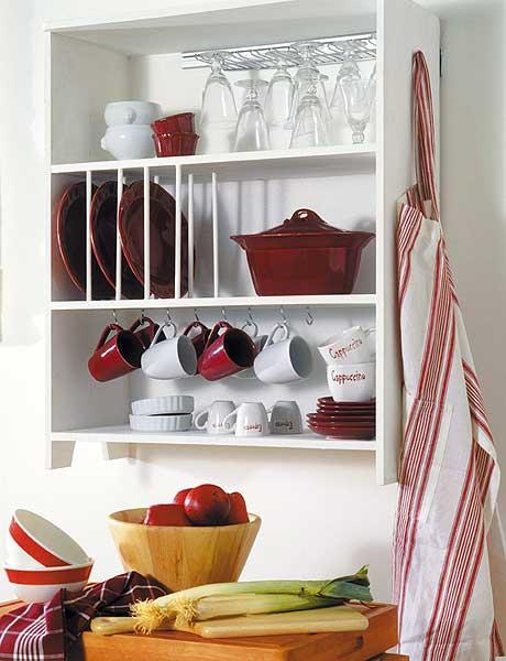 Cocinas consejos para tener todo a mano mdz online for Como hacer estantes de cocina