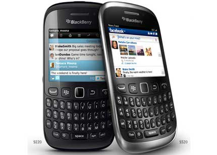 remember had en cuanto esta el blackberry 9320 you're swiping furiously