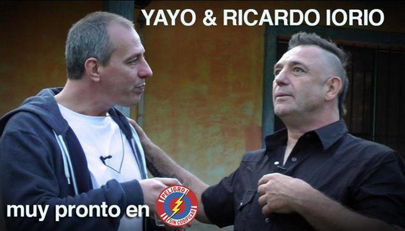 Imperdible entrevista de Yayo a Ricardo Iorio