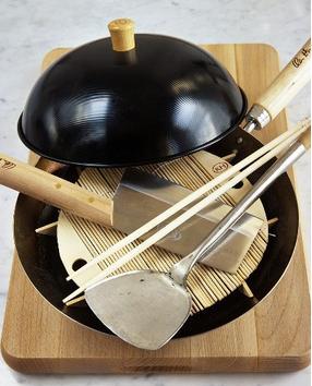 Tips y secretos para cocinar al wok mdz online for Wok cuatro cocinas granollers