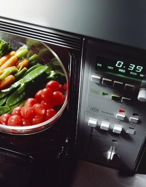 Como cocinar vegetales en microondas