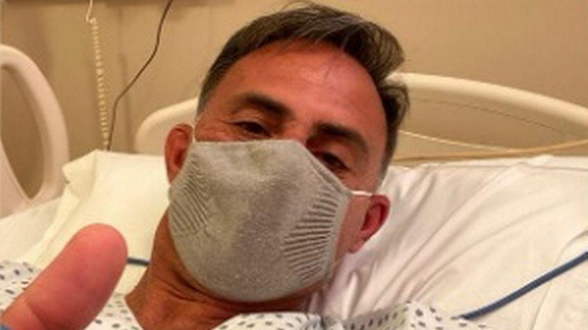 Diego Latorre fue internado por complicarse su cuadro de coronavirus