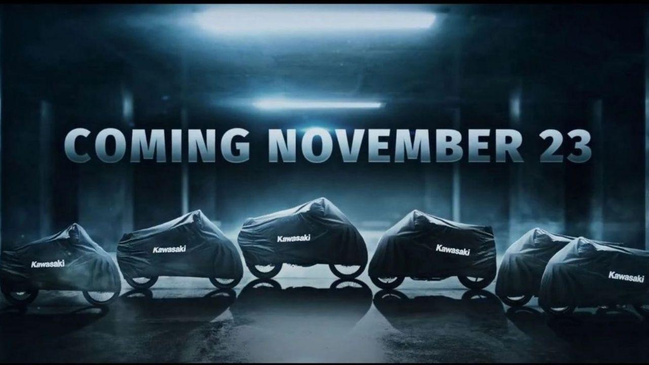 Video Kawasaki lanzar  6 nuevos modelos en noviembre
