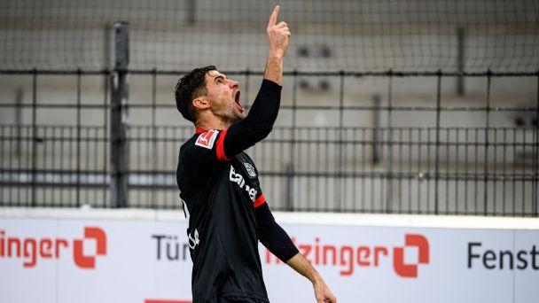 Show de Lucas Alario en victoria del Bayer Leverkusen | MDZ Online