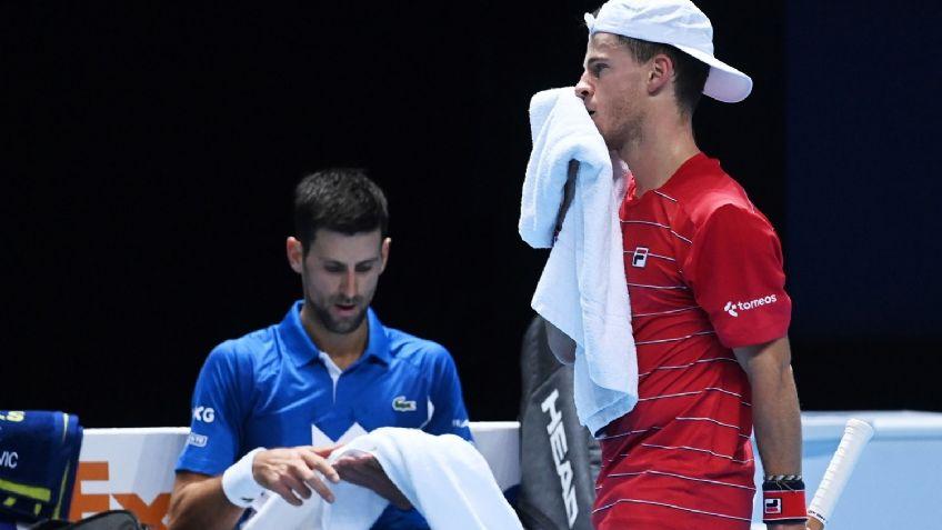 Diego Schwartzman perdió ante Novak Djokovic