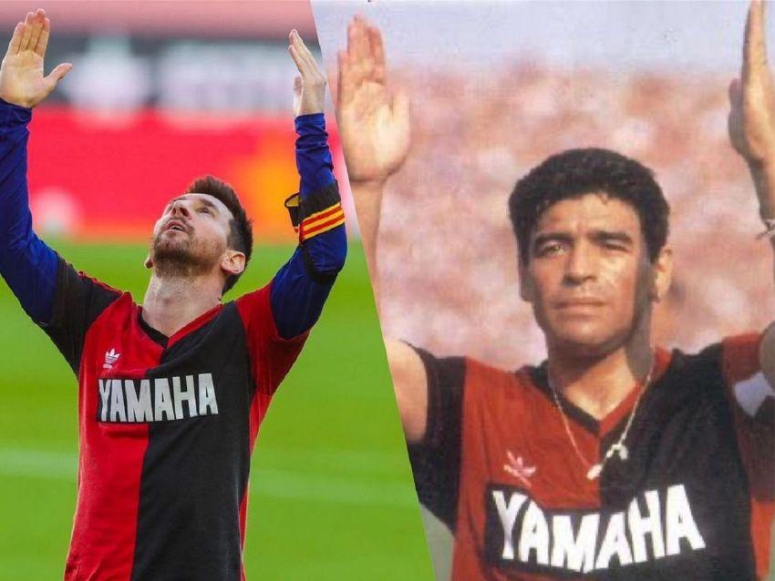 El posteo de Messi tras su homenaje y la increíble coincidencia con Maradona  | MDZ Online