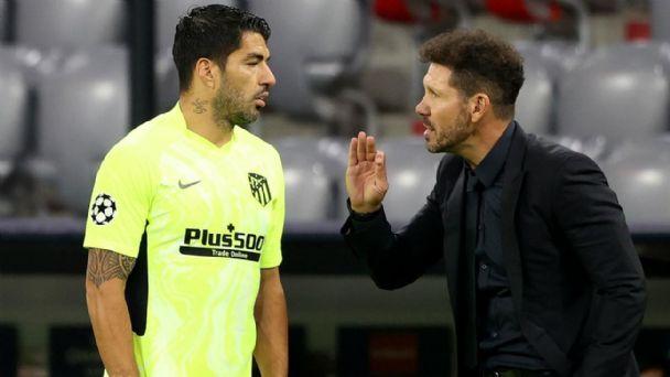 Simeone reveló la charla que tuvo con Luis Suárez antes que deje Barcelona    MDZ Online