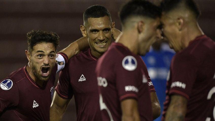 Lanús debutó con una goleada en la Copa Sudamericana