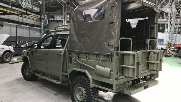 Todas las fotos de la nueva Ford Ranger del Ejército argentino ...