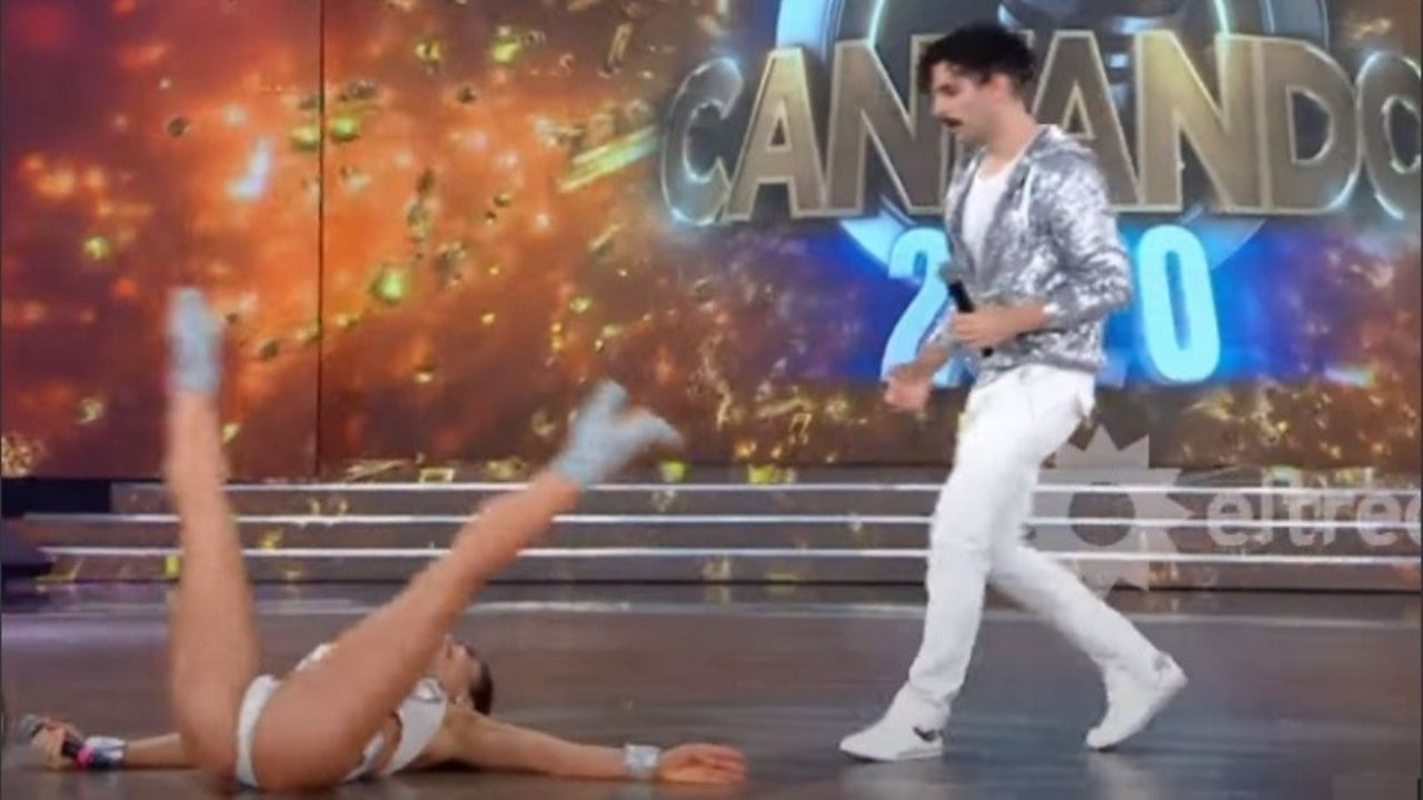 El blooper de Adabel Guerrero al mostrar sus dotes como bailarina clásica - MDZ Online