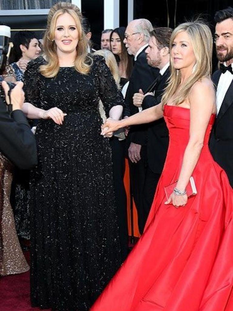 Jennifer Aniston y Adele