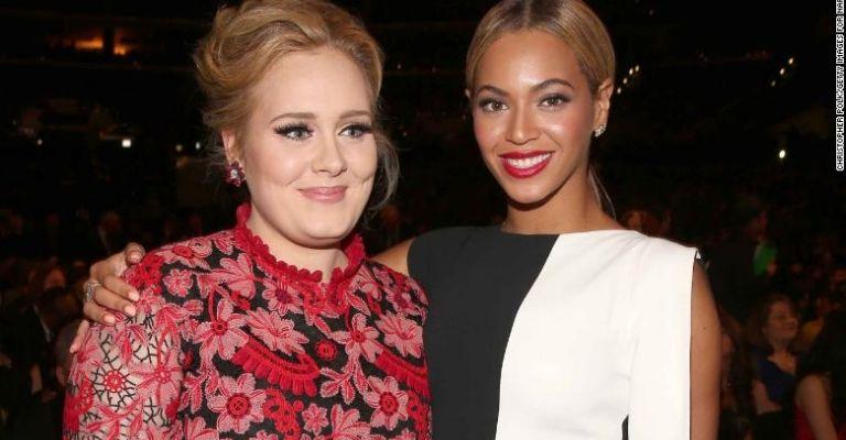 Beyoncé y Adele