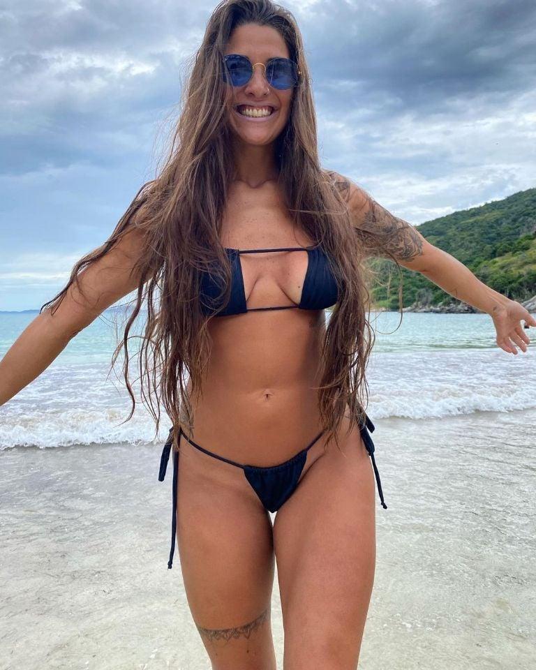 Con una diminuta bikini: Ivana Nadal se llevó todos los suspiros | MDZ  Online