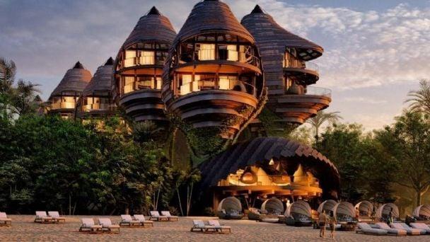 En Tulum este hotel frente al mar sorprende por su diseño | MDZ Online
