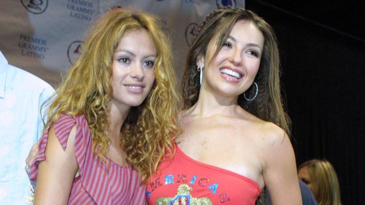 Así empezó la rivalidad de Thalía y Paulina Rubio
