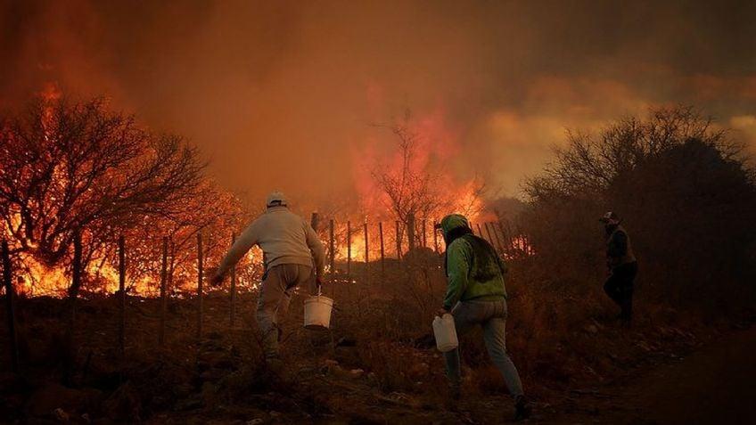 Fires in Córdoba