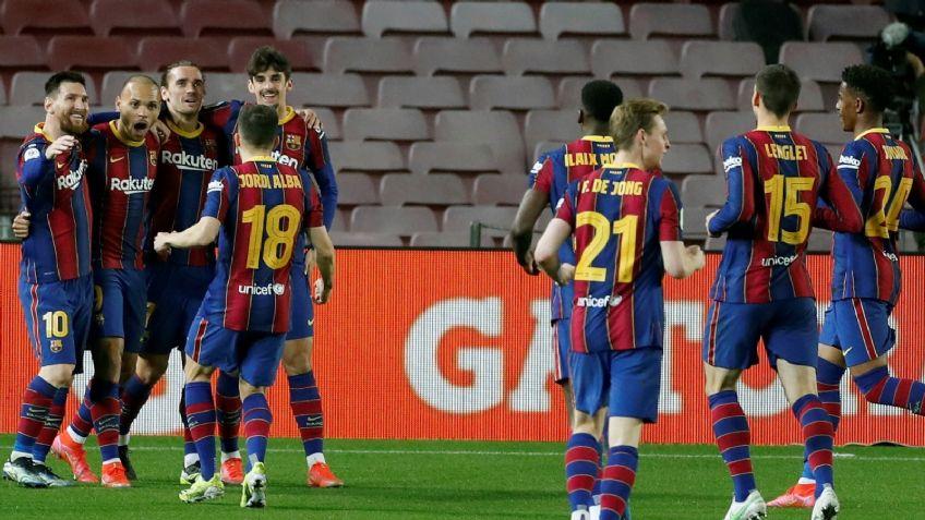 Barcelona  le ganó al Sevilla en un partido increíble y es finalista