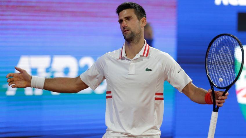 Djokovic fue eliminado del ATP de su país