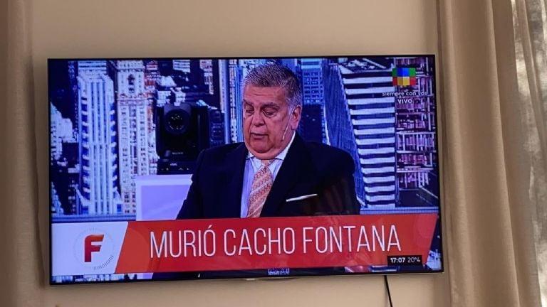 Terrible confusión: dieron por muerto a Cacho Fontana