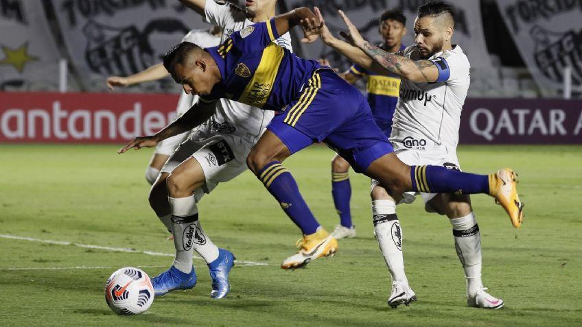 Boca cayó ante Santos y quedó tercero en el Grupo