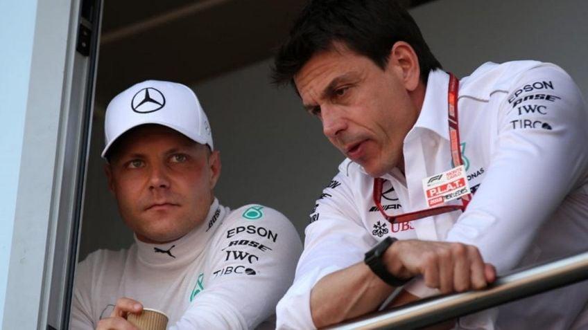 Valtteri Bottas es reemplazado en la próxima temporada de la Fórmula 1