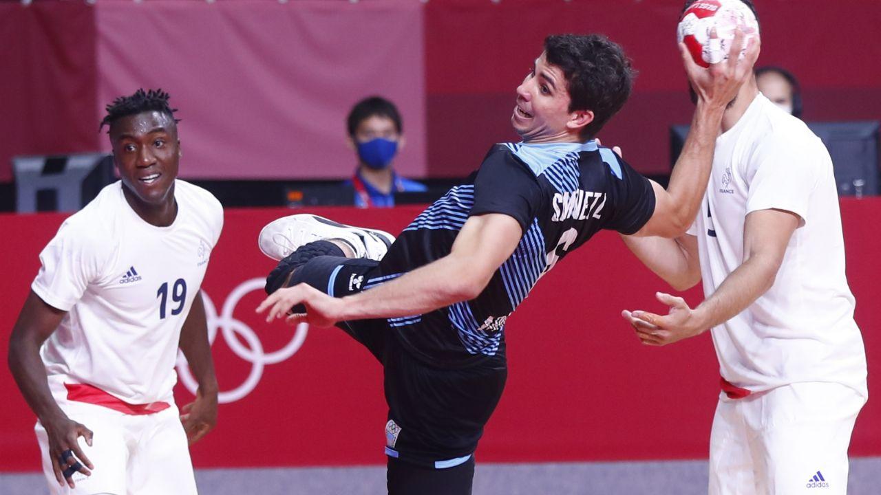 Otra derrota argentina en los Juegos Olímpicos: los Gladiadores cayeron  ante Francia | MDZ Online