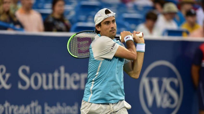 Guido Pella en el ATP de Winston Salem