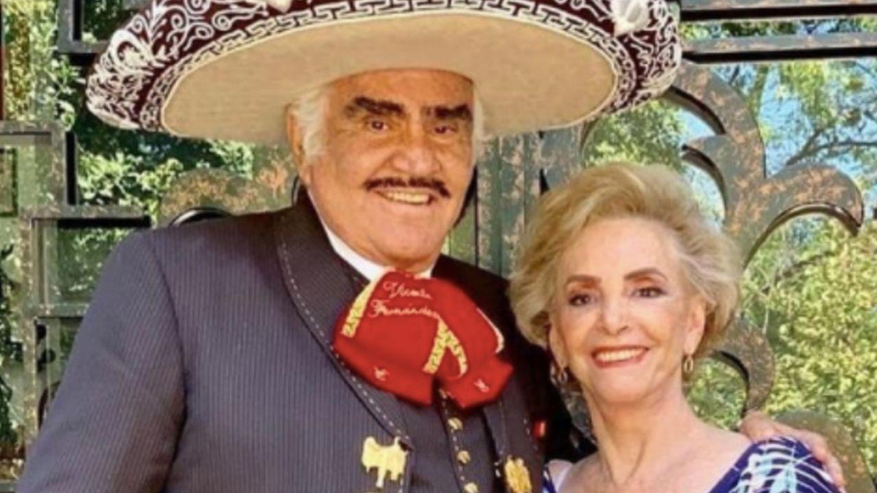 Cómo sigue la salud de Doña Cuquita, la esposa de Vicente Fernández