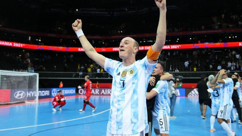 Argentina venció 2-1 a Brasil y clasificó a la final del Mundial de futsal